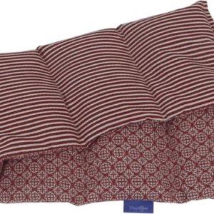 Pittenzak koolzaad langwerpig met design stofje